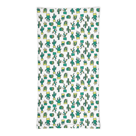 Doodles Collection Neck Gaiter - CACTacular