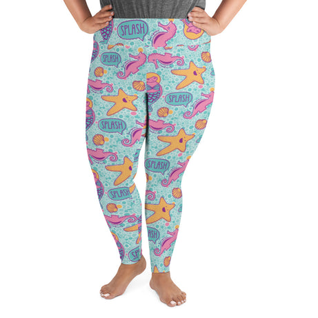 Genius Series Adult Plus Size Leggings - Marie