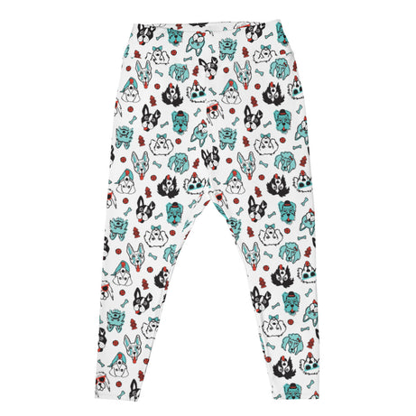 Doodles Collection Plus Size Adult Leggings - PAWsome