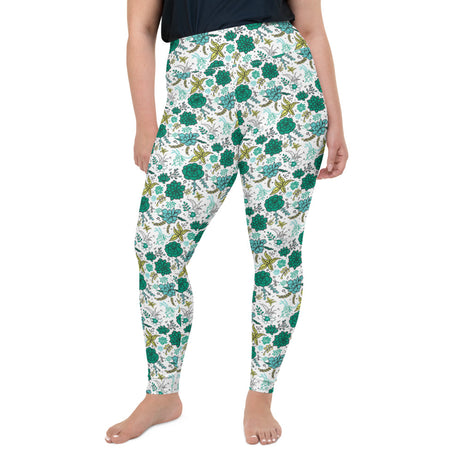 Doodles Collection Adult Plus Size Leggings - SUCCess