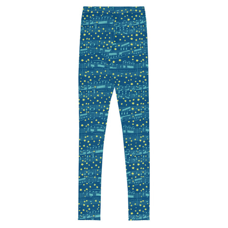 Genius Gear Big Kid Leggings - Mozart