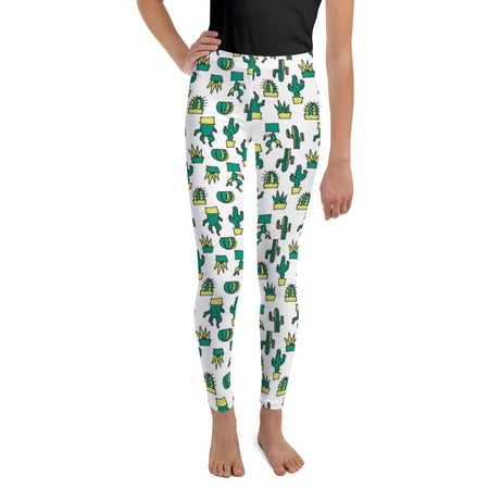Doodles Collection Big Kid Leggings - CACTacular