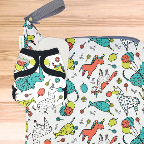 bumGenius Littles™ 2.0 - Newborn Cloth Diaper - The Doodles Collection