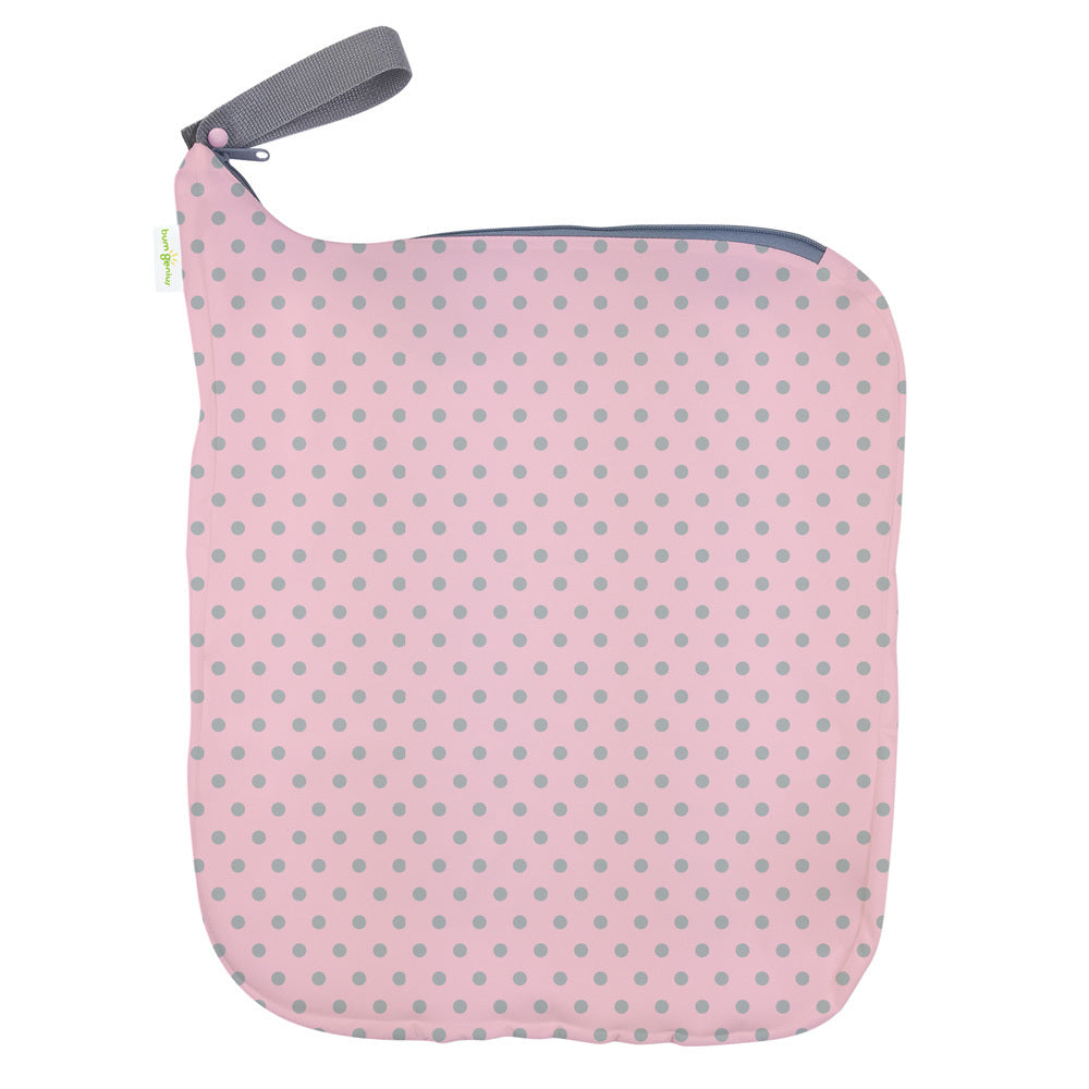 bumGenius Weekender Wet Bag Holds 6 to 10 Diapers Countess