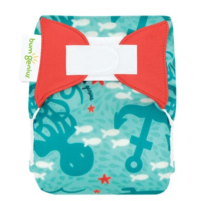 Accidental New bumGenius Littles 1.0 Newborn All in One Cloth Diaper