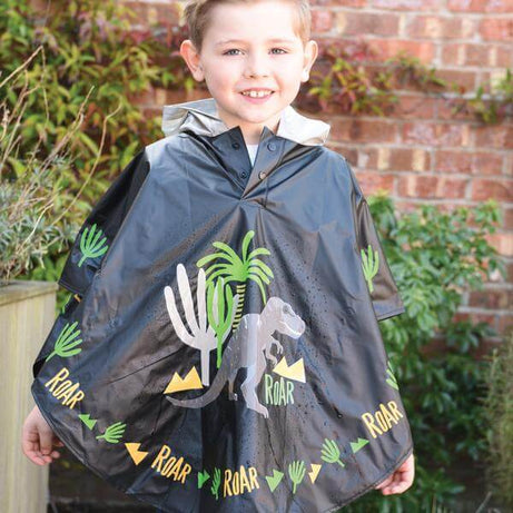 Floss & Rock Dinosaur Colour Changing Poncho