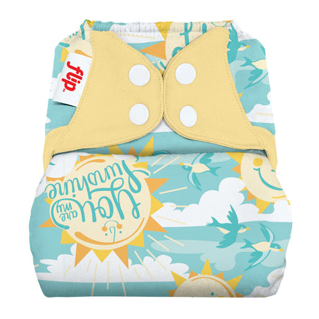 SECONDS: Flip Diaper Cover - My Sun