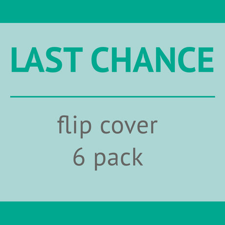 Cotton Babies USED - Last Chance Flip Cover - 6 pack