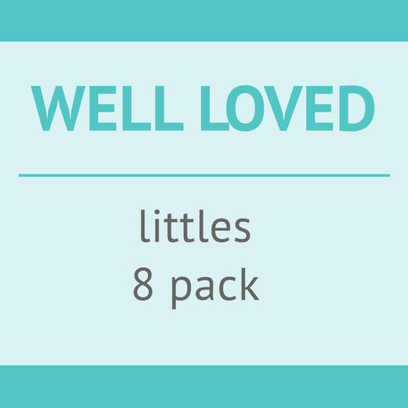 Cotton Babies USED - Well Loved - bumGenius  Littles 1.0 - 8 pack