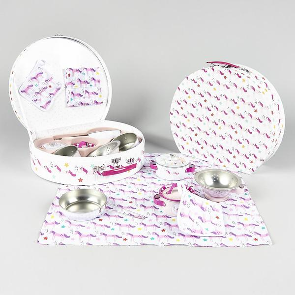Floss & Rock Tin Unicorn Kitchen Set