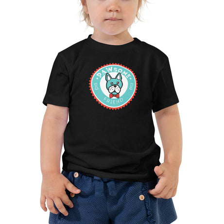 Doodles Collection Little Kid Tee - PAWsome