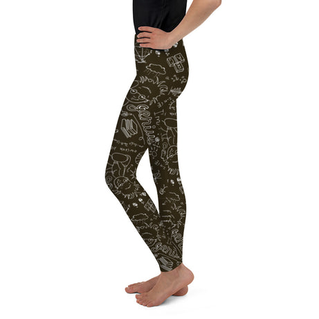 Genius Series Big Kid Leggings - Albert
