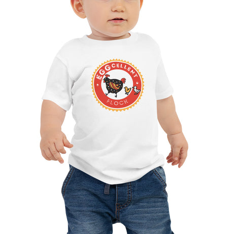 Doodles Collection Baby Tee - EGGcellent