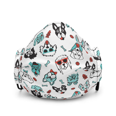 Doodles Collection Adult Mask - PAWsome