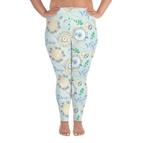 Genius Series Plus Size Adult Leggings - Austen