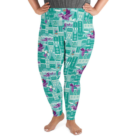 Genius Series Adult Plus Size Leggings - Equiano