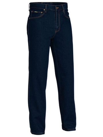 Bisley Mens BP6050 Rough Rider Denim Jeans