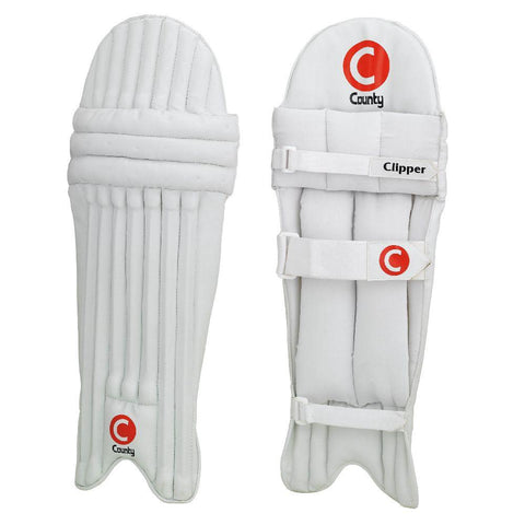 County Cricket Leg Guards Clipper Medium