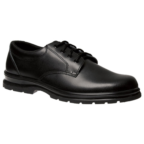 Grosby Senior Educate Black shoe