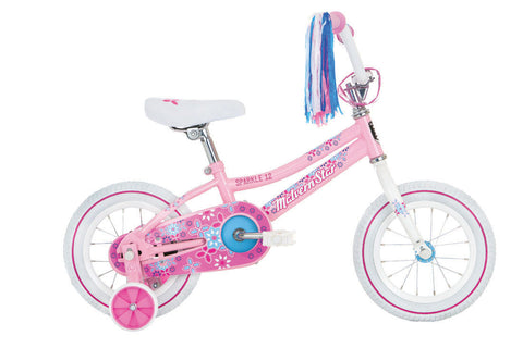 Malvern Stars 12''Pink Sparkle Girl Bike IN STORE PICK UP ONLY
