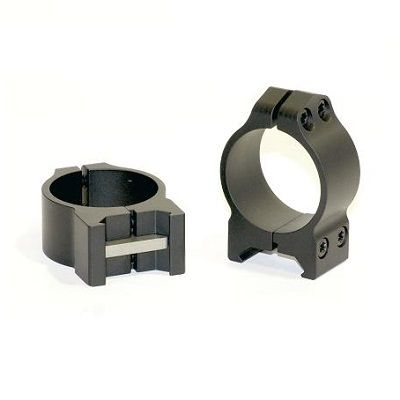Warne Maxima Steel Fixed Scope Rings 34mm Low