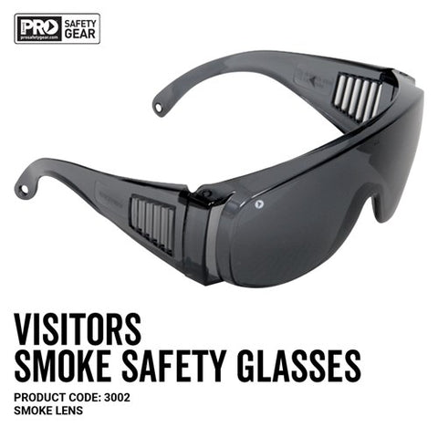 Prochoice® Visitors Safety Glasses Smoke Lens