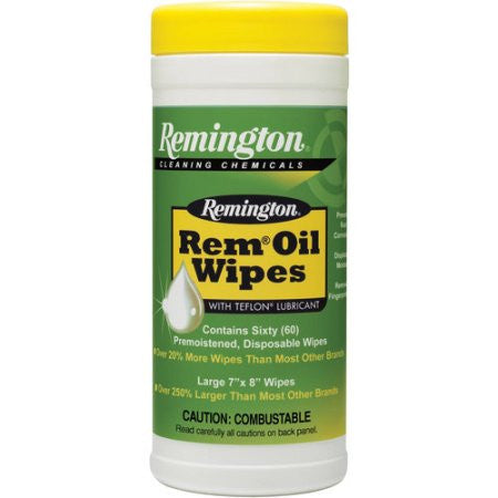 Remington Rem oil pop up wipes