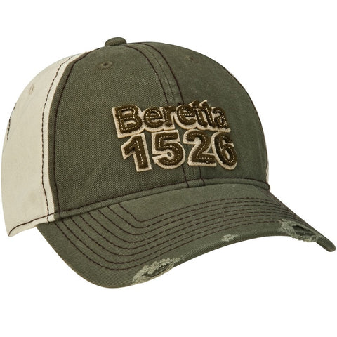 Beretta 1526 Two tone cap green