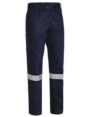 Bisley Mens BP6007T Original 3M Taped work pant navy