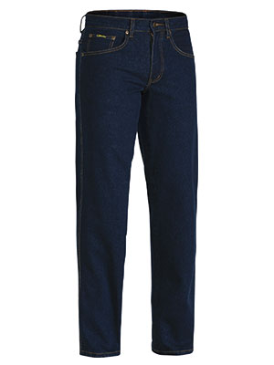 Bisley Mens BP6712 Rough Rider Denim stretch jeans