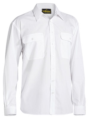 Bisley BS6526 Mens Permanent Press Long Sleeve Shirt