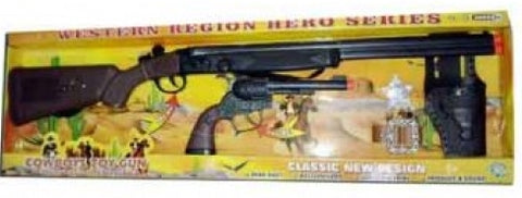 Western Region Hero Series Cowboy Toy Gun Set
