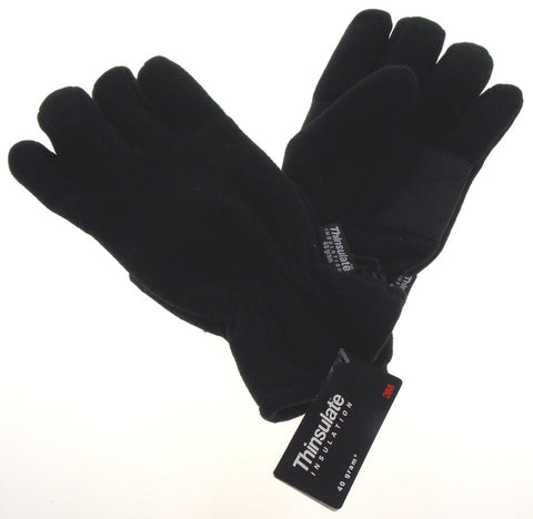 Thinsulate Lined 3M Fleece Gloves