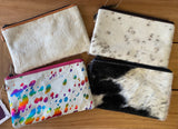 The Design Edge Toronto Cowhide Clutch