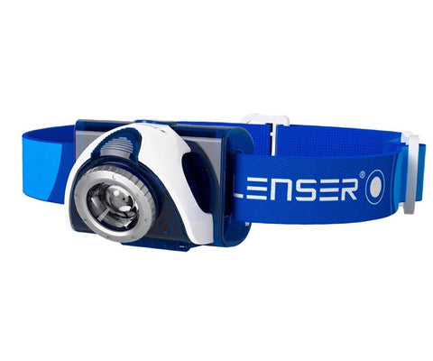 Led Lenser SEO 7R rechargeable head lamp clam pack