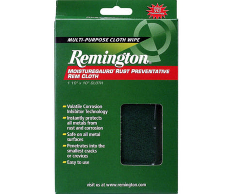 Remington moisture guard rust preventative cloth