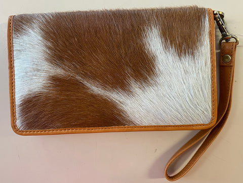 Cow Hide Texas Wallet