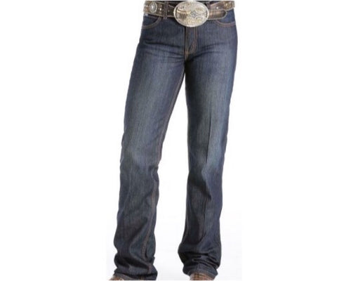 Cinch Ladies Jenna jeans slim stretch dark wash long leg