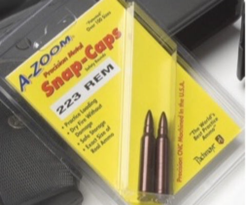 A-Zoom 223 Ruger Metal Snap Caps Series A - 2 Pack