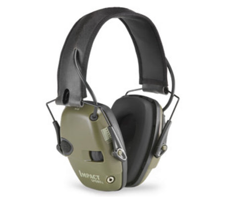 Howard Leight impact sport electronic folding earmuffs