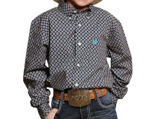 Cinch Baker Boys shirt