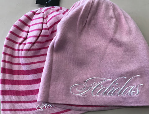 Adidas Youth Reversible Beanie Fresh Pink/Bloom