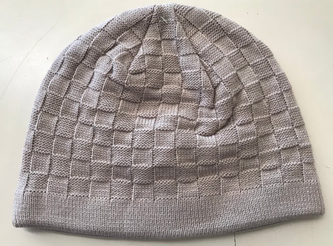 Tulmur Knitted 100% Acrylic Beanie Weave pattern