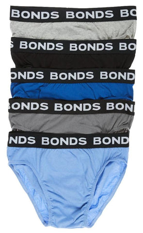 Bonds Men's Hipster Brief 5 pack