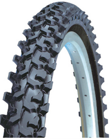 Kenda K50 16 X 1.75 Knobby wire bead bicycle tyre