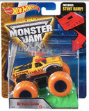 Hot Wheels Monster Jam trucks with Stunt Ramp