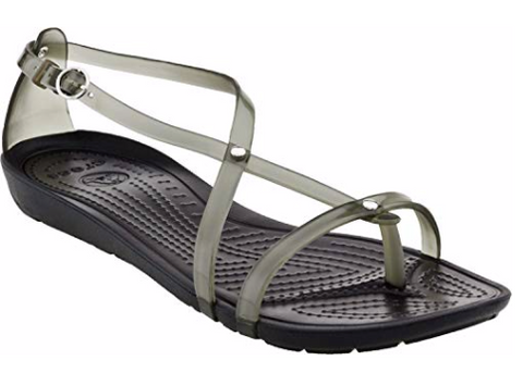 Crocs Ladies Really Sexy Flip sandal Black Womens 4