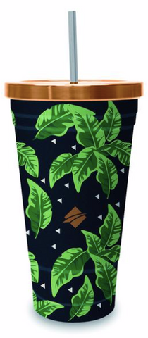 Oztrail Insulated Tumbler with Straw