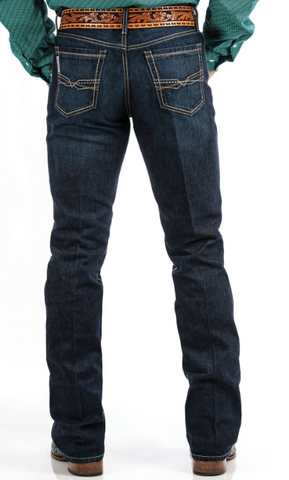Cinch Mens Ian Mid Rise Slim Boot cut Jean