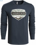 Vortex Vintage Long Sleeve T Shirt Medium
